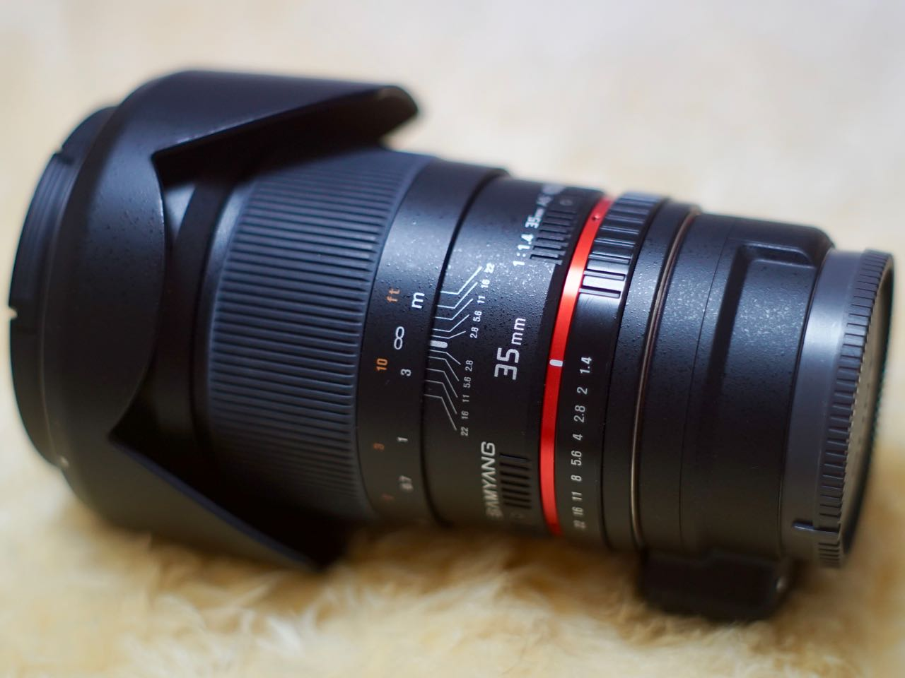 SAMYANG 35mm F1.4 AS UMC for Sony