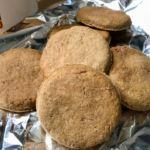 全粒粉100%でお手軽クッキーを焼いて朝食終了の巻